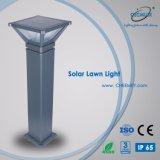 Éclairage solaire de jardin de lumière de pelouse de la fonte d'aluminium DEL