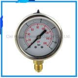 2.5inches振動証拠のステンレス鋼の圧力計