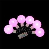 Bombilla LED de luz de la bola con control remoto