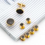 Ювелирные изделия VAGULA Onyx Tuxedo запонки шпильки 8 ПК установите манжету ссылки