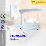 Thr Obt003 병원 움직일 수 있는 휴대용 퍼스널 컴퓨터 병원 조정가능한 테이블