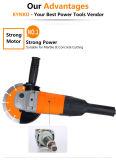 Длинний точильщик угла електричюеских инструментов руки для камня