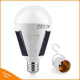 Desligar a luz solar LED lâmpada LED de 7 W E27 85-265V recarregável para piscina caminhadas Camping tenda a iluminação de Pesca