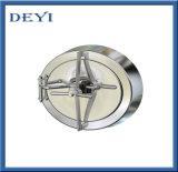 Tampa de câmara de visita higiênica da pressão do círculo do aço inoxidável (DY-M038)