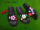 [لدي سليبّر] [بفك] فرعة حذاء وحيد مع زهرة داخليّة