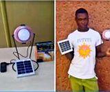 Lumière solaire maniable de Tableau de qualité avec du temps d'éclairage de 3 opérations