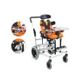 뇌성 마비 CP 아이들 휠체어를 접히는 의학 건강 제품 알루미늄