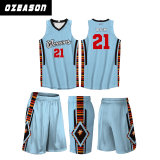 L'uniforme poco costosa di pallacanestro della squadra di disegno uniforme rosso di pallacanestro ha impostato (BK014)