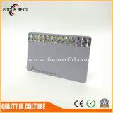 tipo de 13.56MHz ISO14443 una tarjeta sin contacto de RFID con talla e insignia modificadas para requisitos particulares
