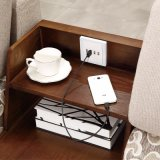 USBの充電器ファブリックソファーの家具Fb1112との現代デザイン