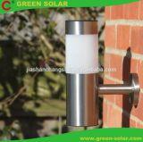 Indicatore luminoso solare del giardino dell'acciaio inossidabile, indicatore luminoso solare dell'iarda