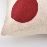 カスタマイズされたデジタルによって印刷される綿のリネン装飾的なクッションカバー投球枕箱
