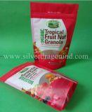 Fastfood- Beutel mit Reißverschluss und Fenster für Nuts Paket