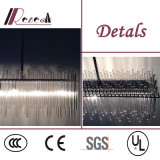 Moderno LED Decorativo LED Glass Tube Ceiling Light