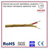 Стекловолоконные обмотанные удлинительный кабель термопары