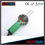 1600W de aire caliente de color verde con pistola de soldar homologado CE