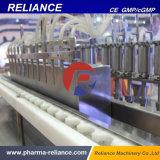 Tipo rotatorio automático máquina de relleno del lacre del jarabe plástico de la botella