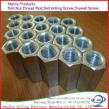 La norme DIN6334 des écrous de raccord hexagonal métrique long de l'écrou