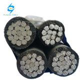 Puissance électrique XLPE Isolation PVC Les frais généraux de l'aluminium câble ABC