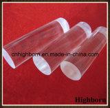La alta calidad de color blanco lechoso opaco la varilla de vidrio de cuarzo de sílice