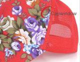 Allover Blumendrucken-Fernlastfahrer-Schutzkappe mit Baumwolle 100%