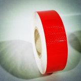 Band van de Veiligheid van pvc van de Honingraat van de rode Kleur de Zelfklevende Weerspiegelende voor Voertuig