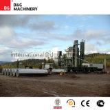 Завод асфальта 200 T/H для строительства дорог