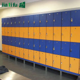 積層HPLの更衣室のロッカー