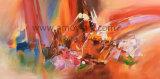 北欧様式の概要のキャンバスの芸術の装飾のためのハンドメイドの油絵
