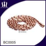 Varie catene del branello della sfera dell'acciaio inossidabile del metallo di colore