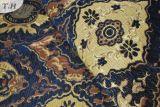 Jacquard bleu profond de Chenille de la couleur 2016 tissant par 200GSM (FTH31588)