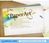 80g Book Printing Art Paper Hotmelt 62g White Glassine Liner