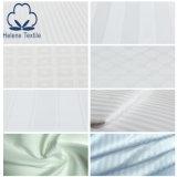 ropa de cama del hotel de la raya el 100% Cotton/Tc de los 3cm