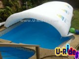Weiße aufblasbare Luft Zelt-verschlossener Umschlag für Pool