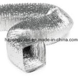 Folha de alumínio para ventilação e condutas flexíveis