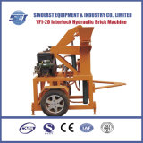 Sei1-20移動式油圧粘土の連結の煉瓦機械