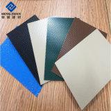 彫版のロゴの写真フレームのためのHDPE/PVDFによって塗られるアルミニウムシートか版またはパネル