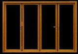 Bronze anodisiertes Aluminiumrahmen-Glas Windows