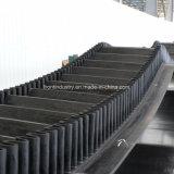 製鉄所、石炭のプラントおよびポートのための波形のサイドウォールのコンベヤーベルト