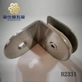 B2331 de 90 grados de cristal de la Puerta de ducha cuarto de baño de Clip de pinza abrazadera de montaje de vidrio