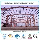 Snelle Pakhuis die van de Structuur van het Staal van het ontwerp het Lichte de PrefabBouw van het Metaal bouwen