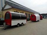 Camion dell'alimento di Tranda Dilivery/carrello veloci dell'alimento con tempo di impiego lungo