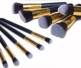 Pinsel-Set-Augenschminkeeyeliner-Lippenpinsel-Puder-Basis-Hilfsmittel der Verfassungs-10PCS