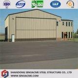 Magazzino strutturale d'acciaio prefabbricato galvanizzato della costruzione nel Brunei