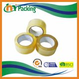 Brown y BOPP transparente pila de discos la cinta adhesiva