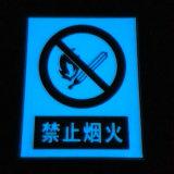 4 - 10 ore che emettono luce in nastro Photoluminescent blu scuro per sicurezza