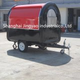 販売のための移動式ステンレス鋼のファースト・フードの販売のカートまたはトレーラーまたはトラックデザイン