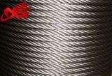 Ungalvanized는 철강선 밧줄 4vx39s+5FC를 압축했다