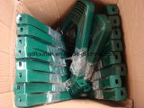 Lo zinco ha placcato la riga della barra di rotella di gomma galvanizzata della carriola Wb6414