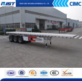 3 Axle Flat Bed Semi Trailer 40ft